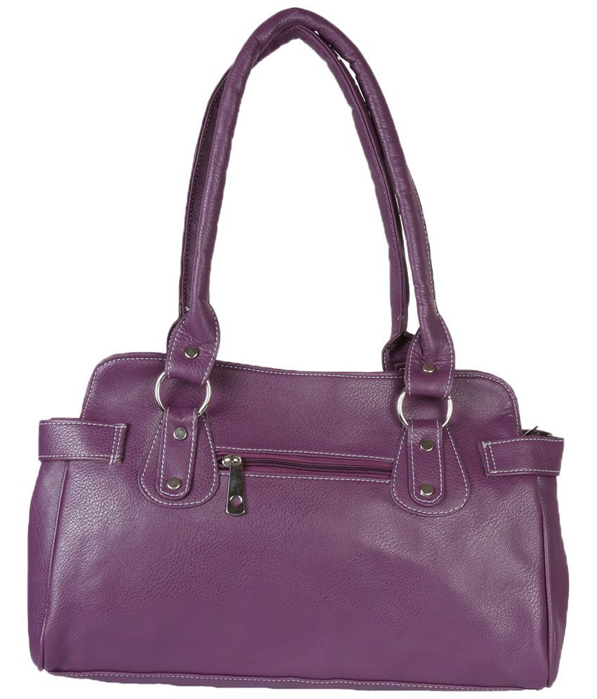 Murcia 1952Pur Purple Shoulder Bags