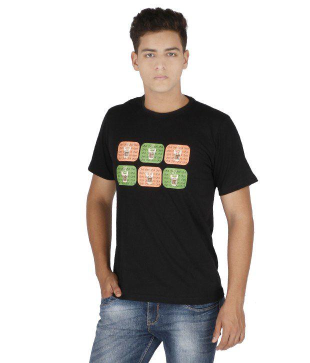 Desi Chowk Cotton Round Neck T-Shirt