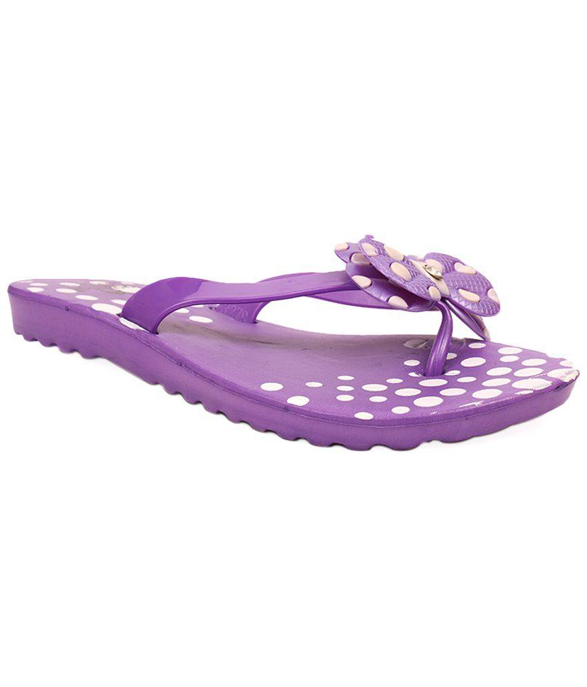 Aalishan Purple Ladies Slipper