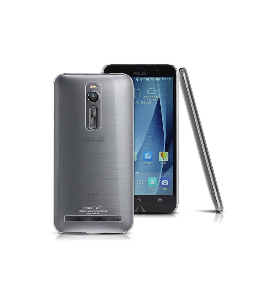 Heartly Imak Crystal Clear Hot Transparent Best Back Cover For Asus Zenfone 2 ZE550ML ZE551ML