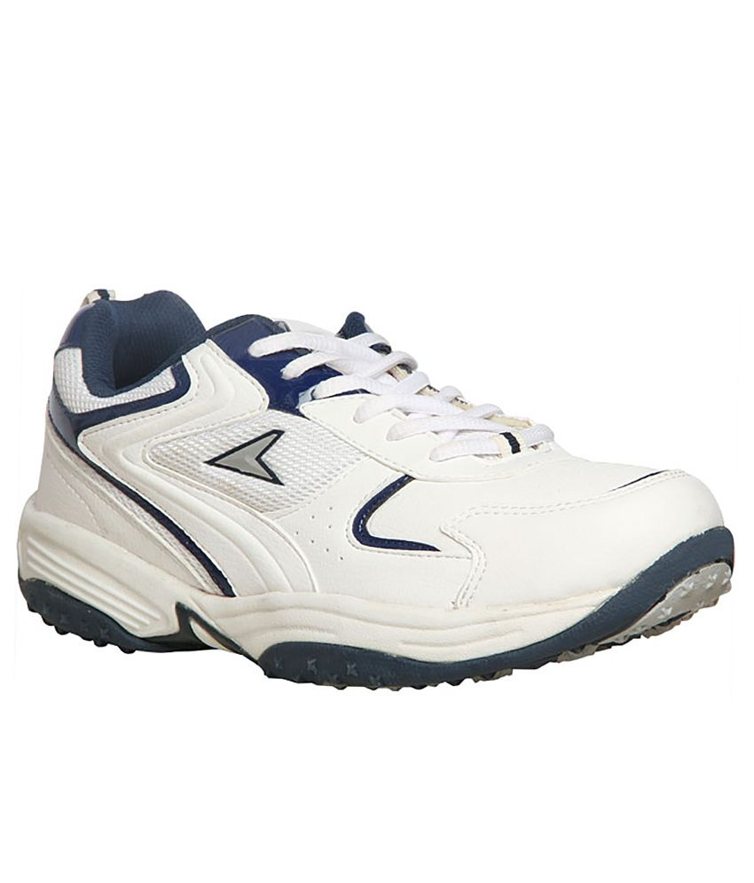 Power White Colour Sport Shoes - Buy