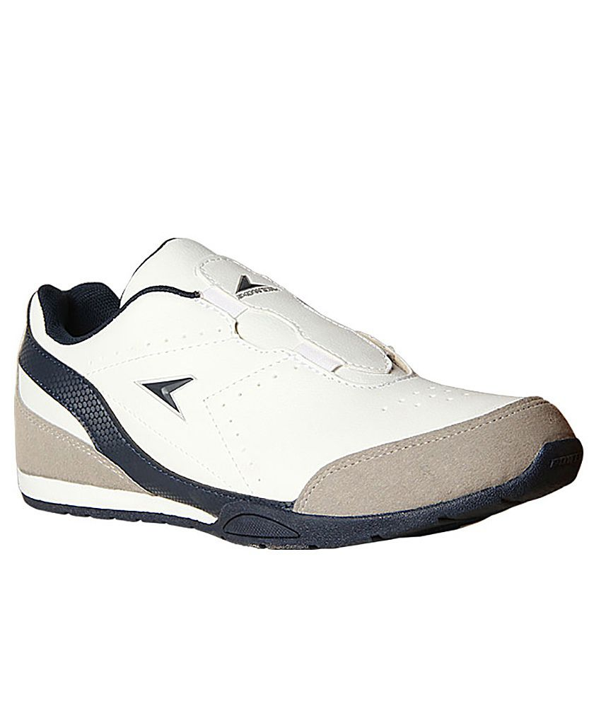 power white colour sport shoes buy power white colour