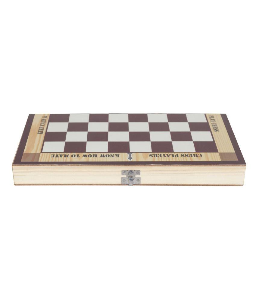 Jenny Wodden Compact Chess Board