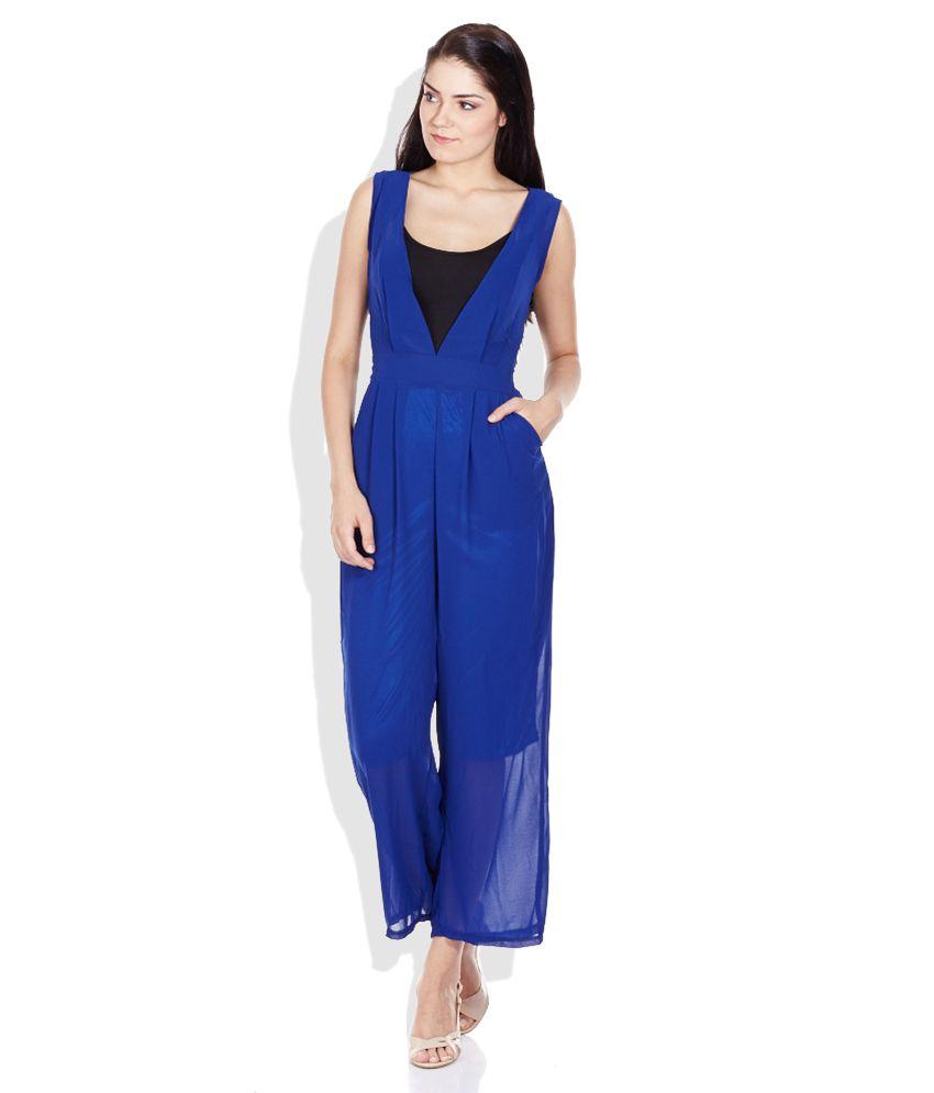 Code Blue Solid Jumpsuit