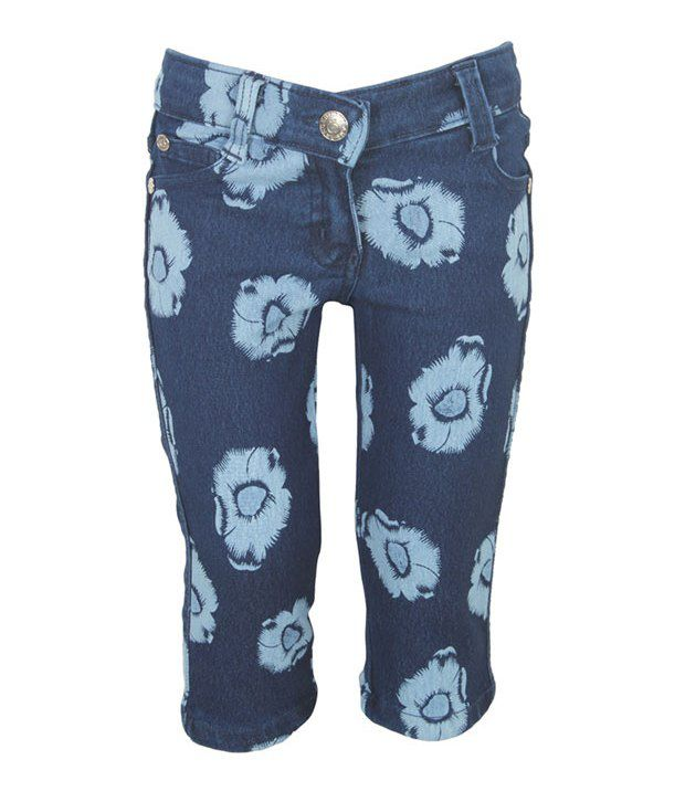 Eight26 Blue Denim Capris