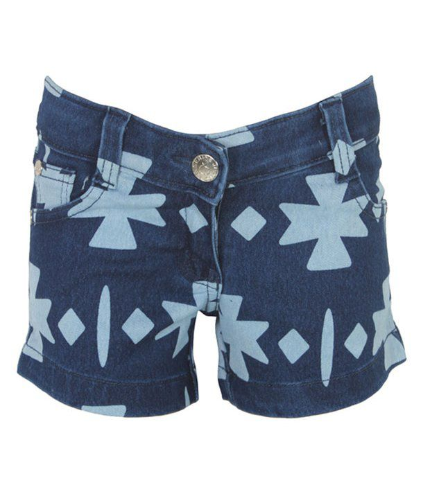 Eight26 Blue Denim Shorts