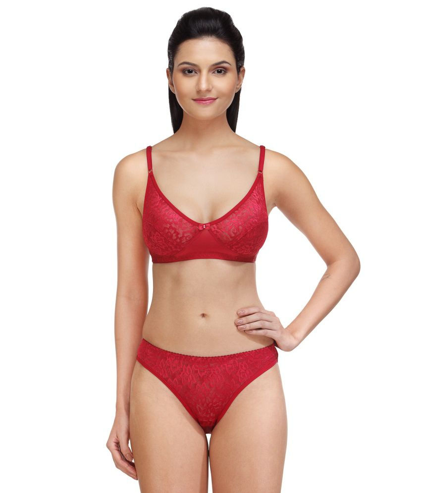 Buy Fashigo Womens Trendy Maroon Lingerie Set Online at Best Prices in  India - Snapdeal 0d94093605