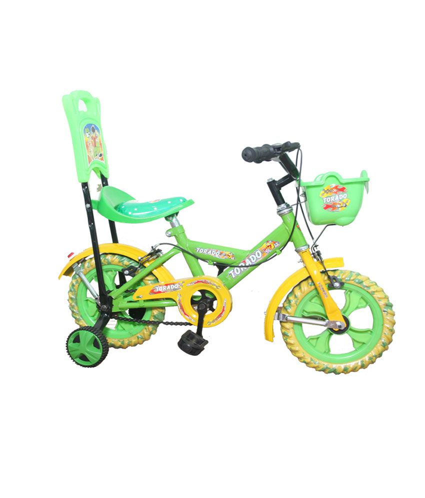 Torado Aqua 12t Green Kids Bicycle For Ages 2 4 Years Buy Online
