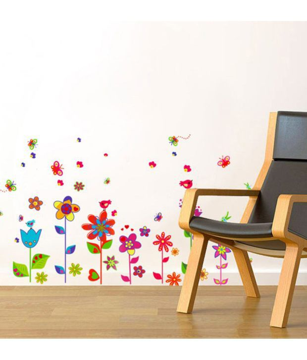 ... StickersKart Wall Stickers Border Design Colorful Fun Flowers 9009 ... Part 84