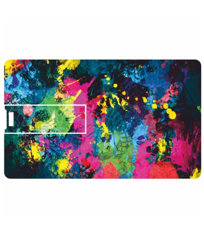 Printland Flashy 8 GB Pen Drives Multicolor