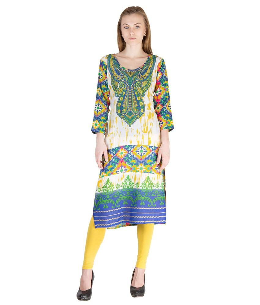 Castle Cotton Printed Kurti
