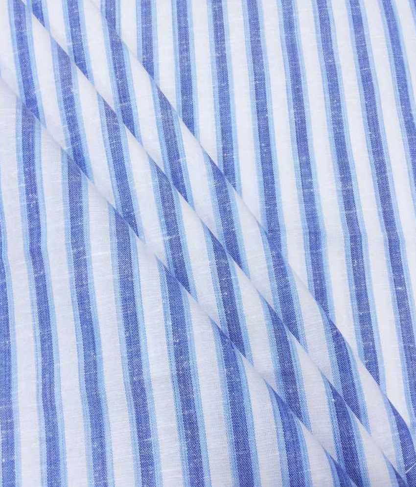 Fashion Foreplus  Cotton Blend Striped Shirt Fabric