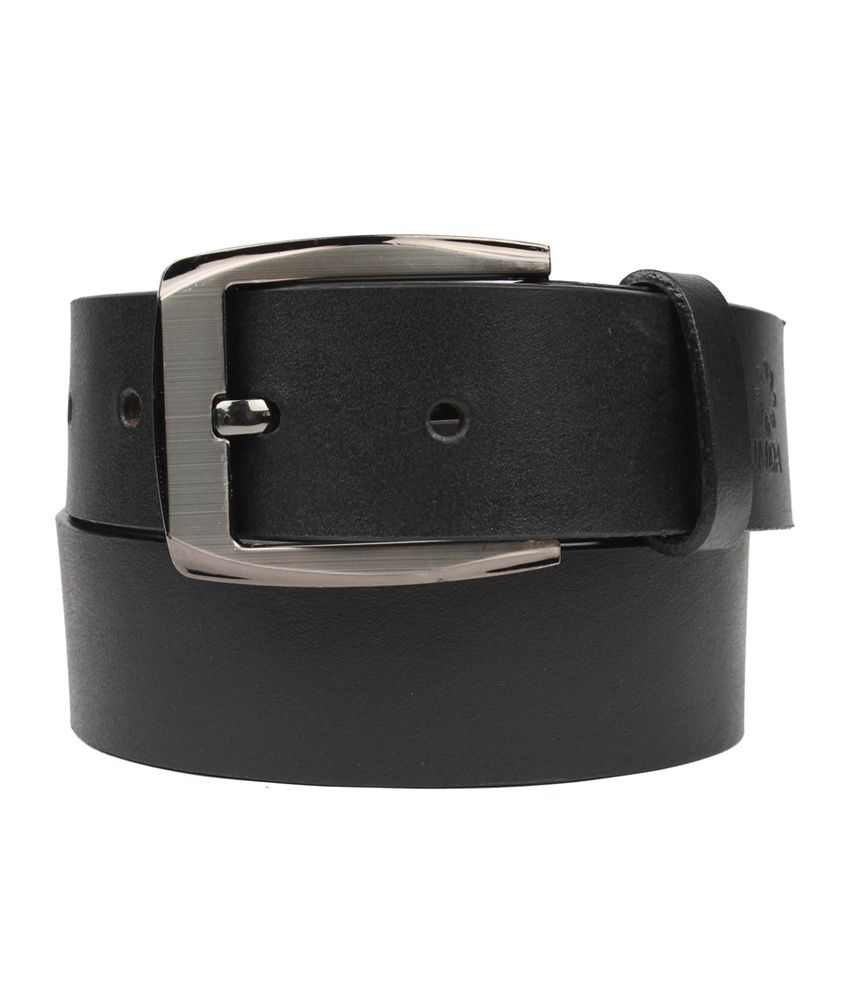 UMDA Black Leather Belt