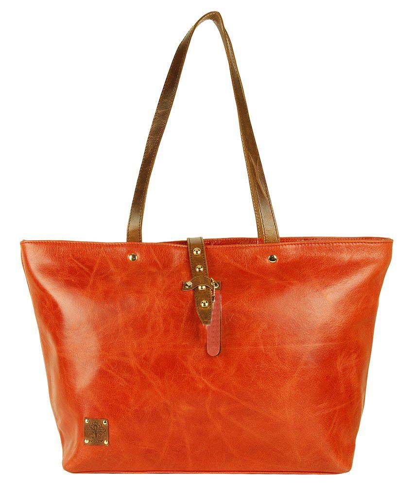 Amiki BG-13 Orange Tote Bags