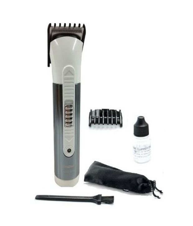 Nova NHT-1014 Trimmer for Men (White and Grey)