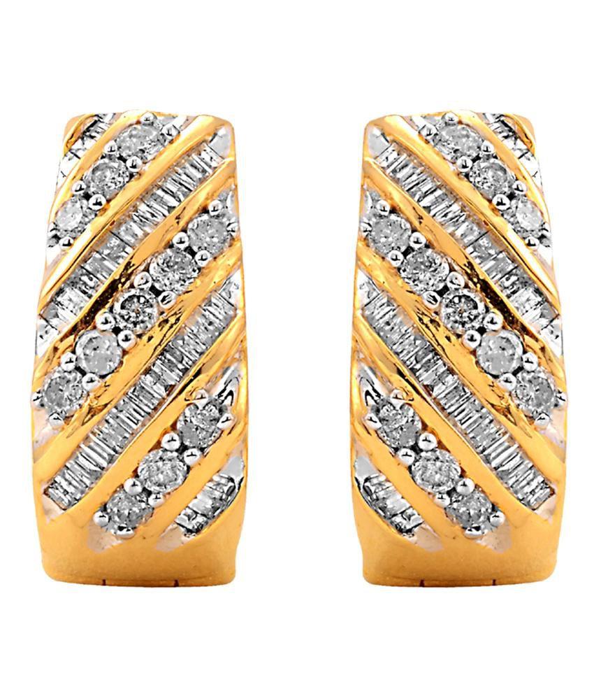 Tirupati Jewels By Varun Mittal Contemporary Gold Earring