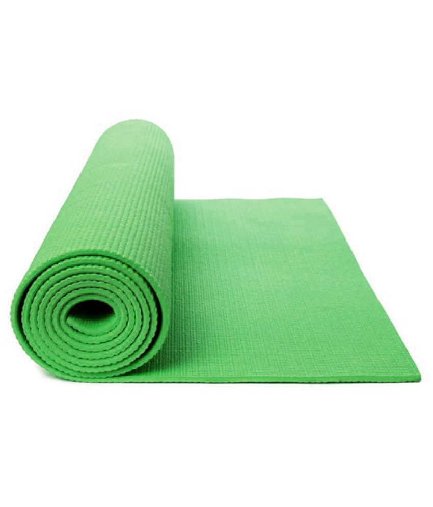 Elite Combo Of Premium Exercise And Yoga Mat Green-6mm