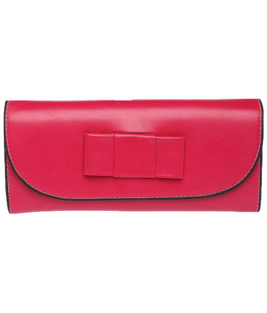 Elliza Donatein 8785252-PINK Pink Clutch