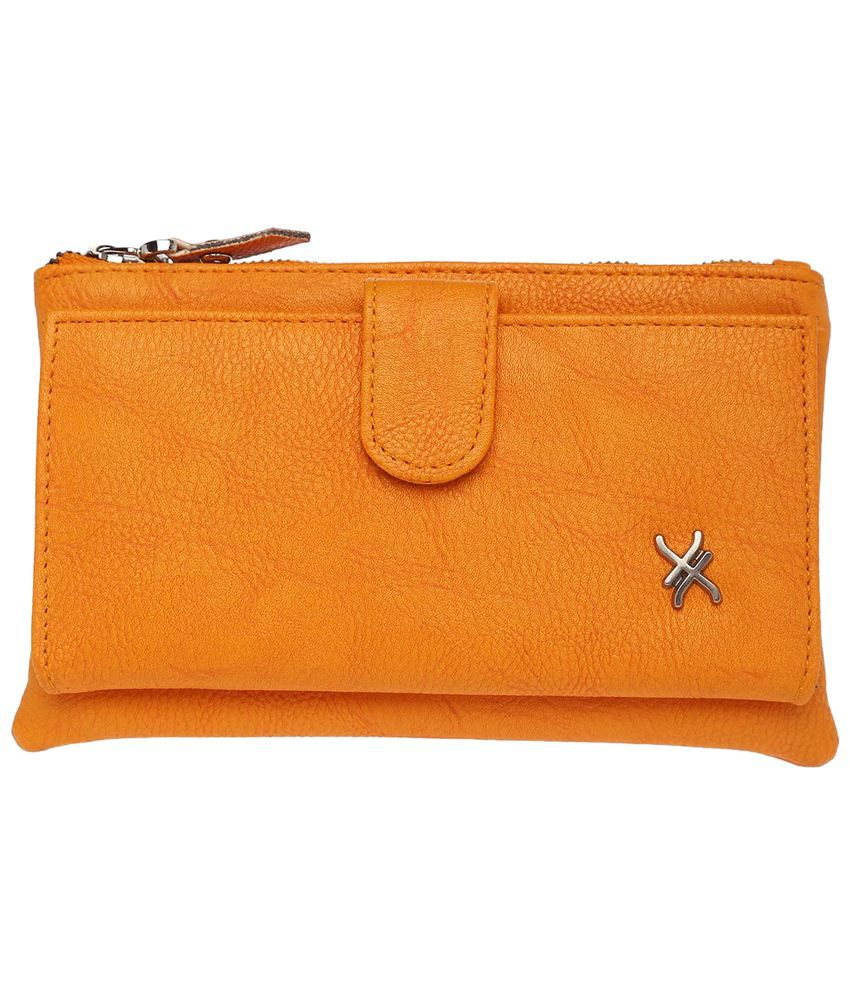 Life By Shoppers Stop Yellow Rachel Wallet