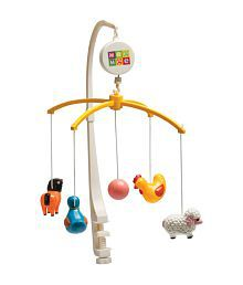 Mee Mee Baby Musical Animal Mobile