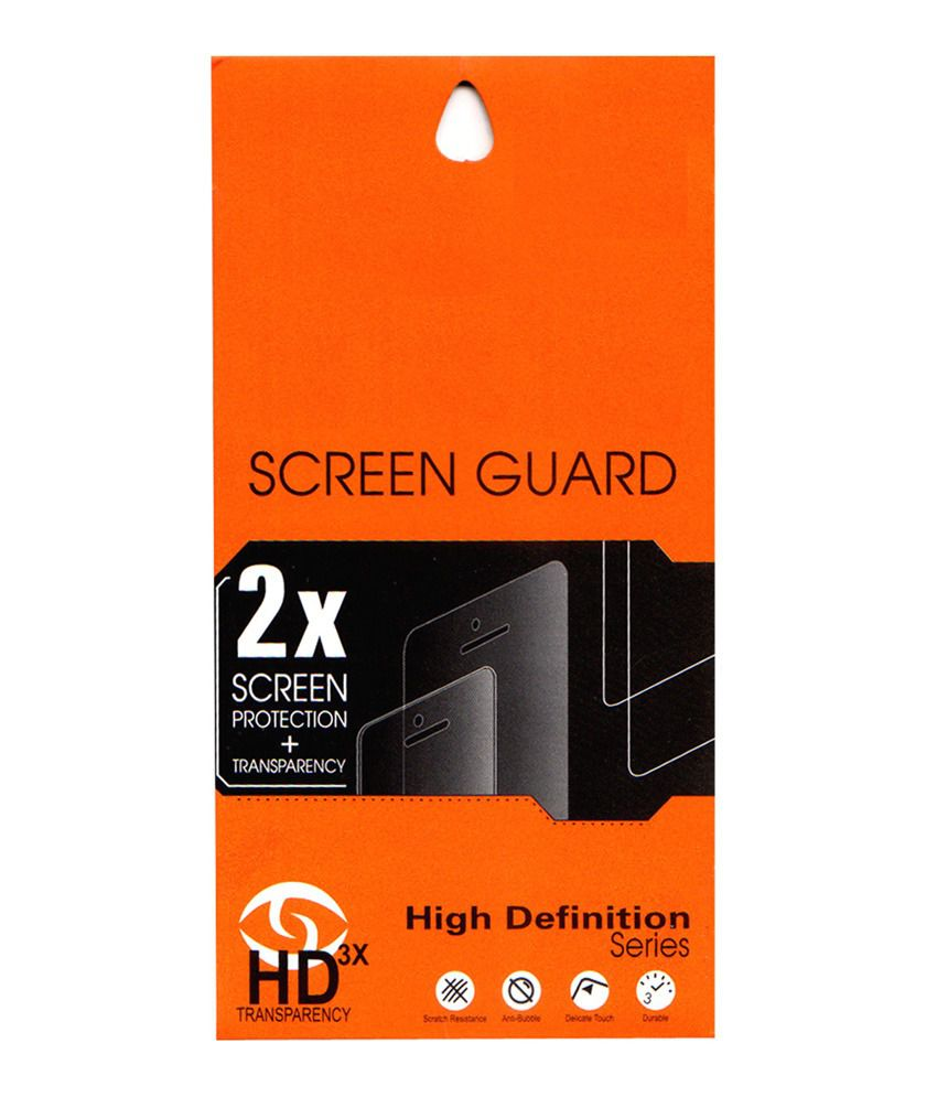 Micromax Canvas Juice2 Aq5001 - Pack Of 1 Clear Screen Guard by Vasnm