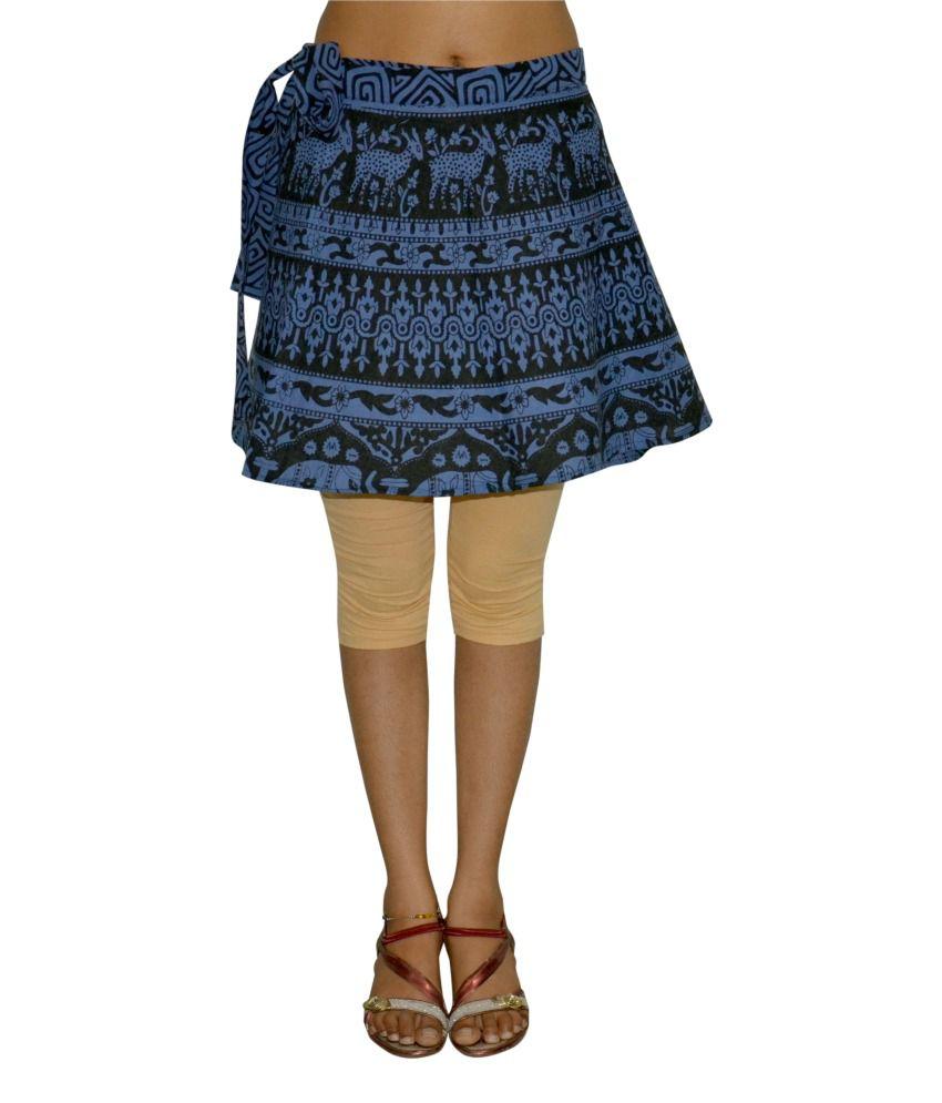 Black Skirt Cotton 71