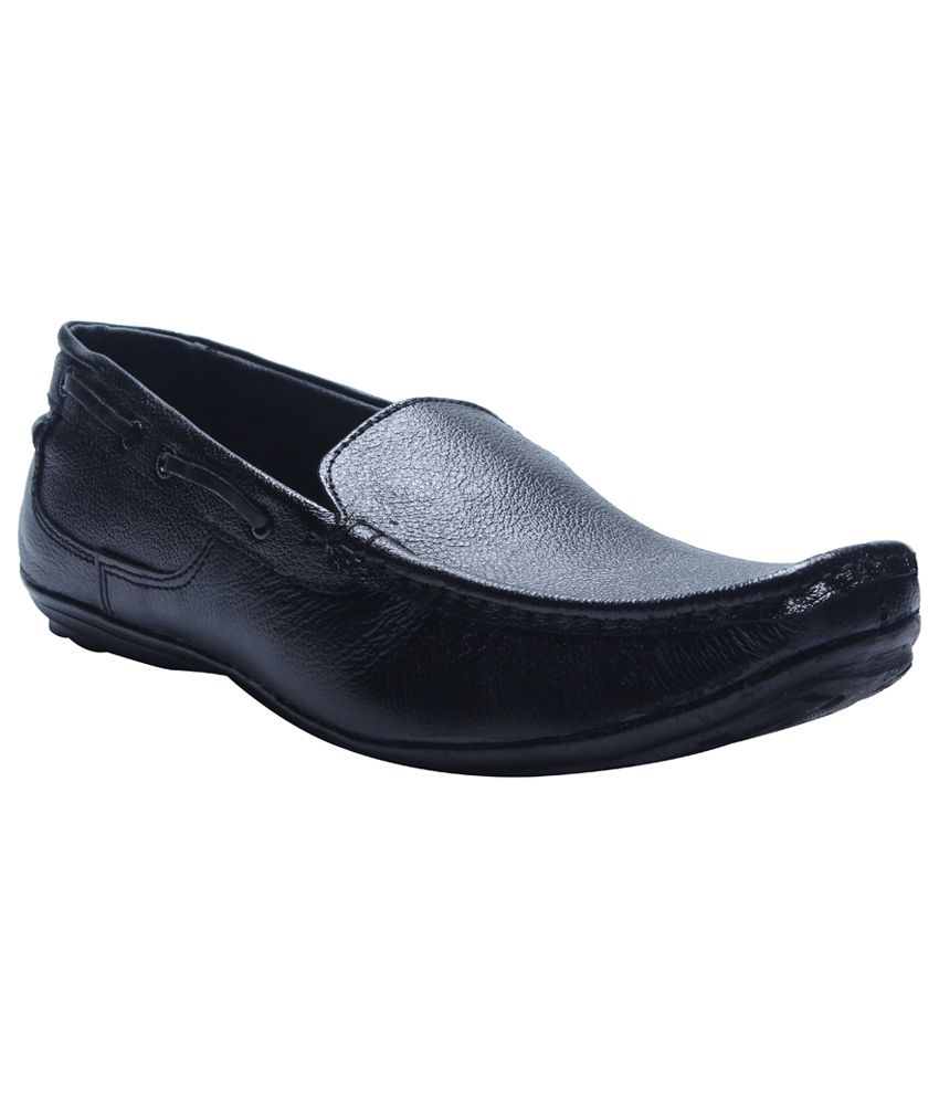 Ss Black Loafers