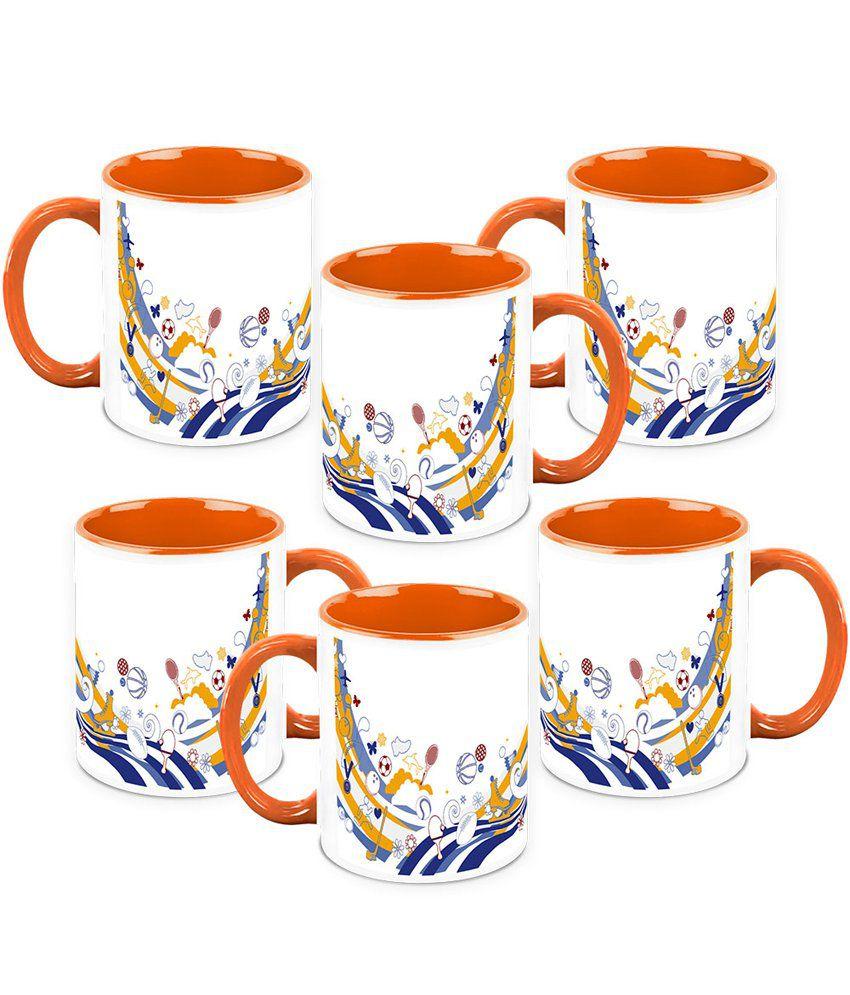 Homesogood Multicolour Lets Play Some Games Coffee Mug