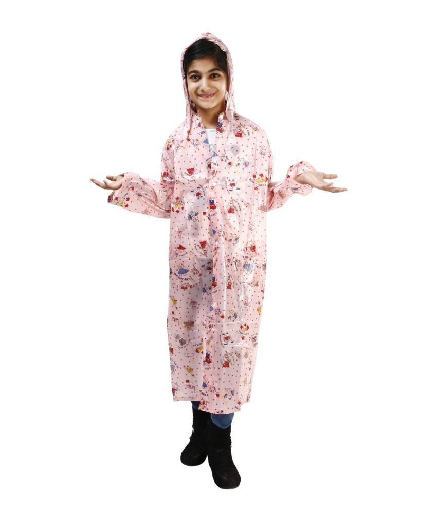 Rainfun Pink Rain Wear