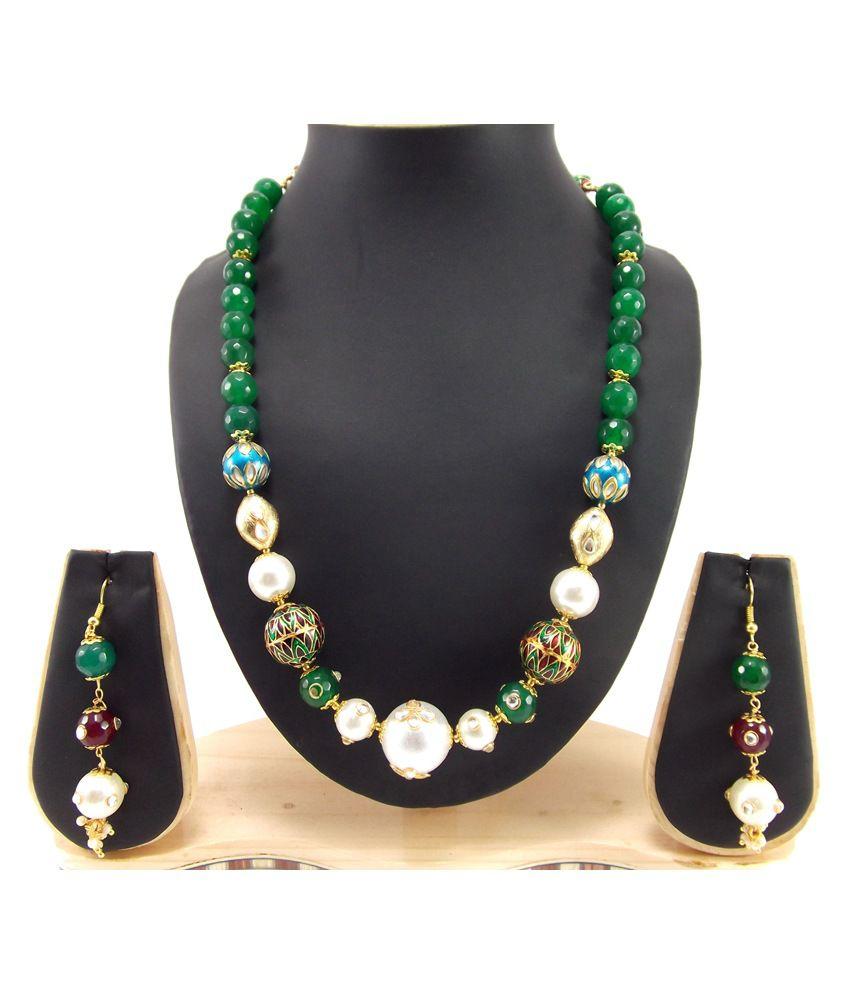 9Blings Amazingmulticolour Necklace Set
