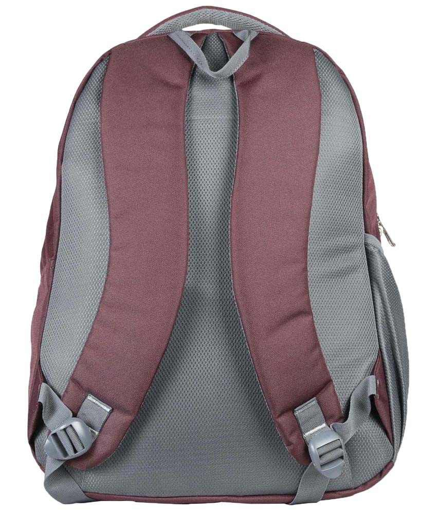 0121e8884c19 Oasis OSB 15 N Purple & Gray Backpack - Buy Oasis OSB 15 N Purple ...