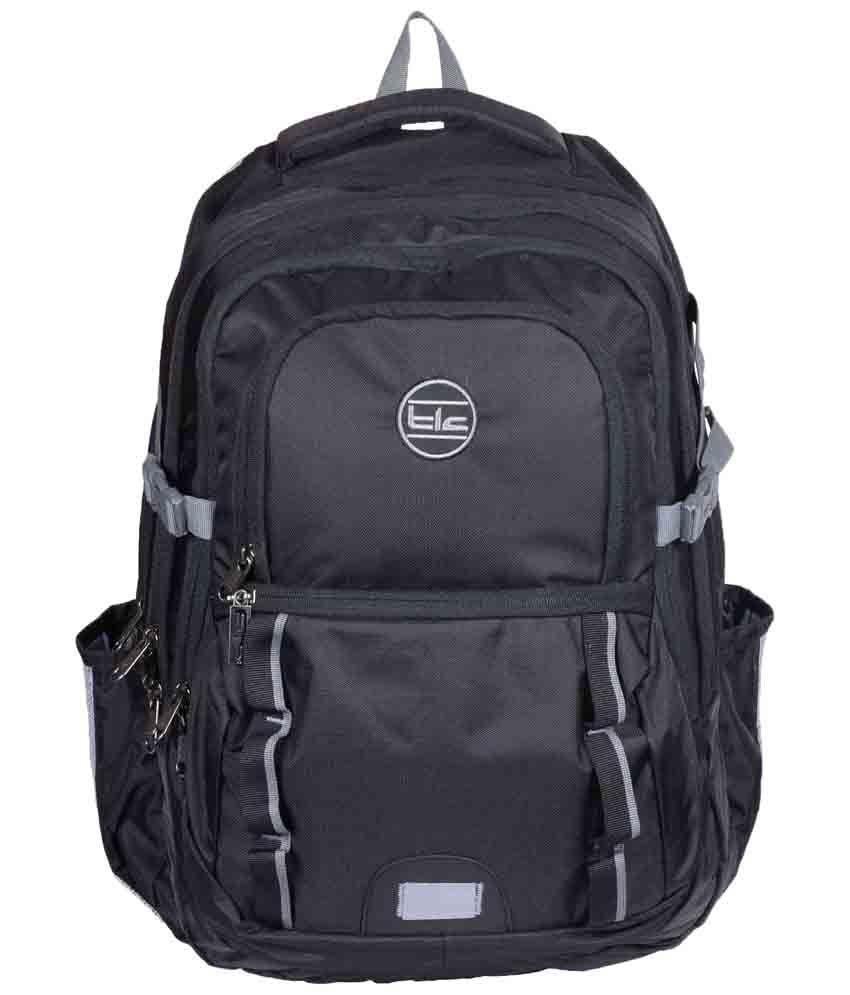 TLC All Track Black Laptop Backpack Bag