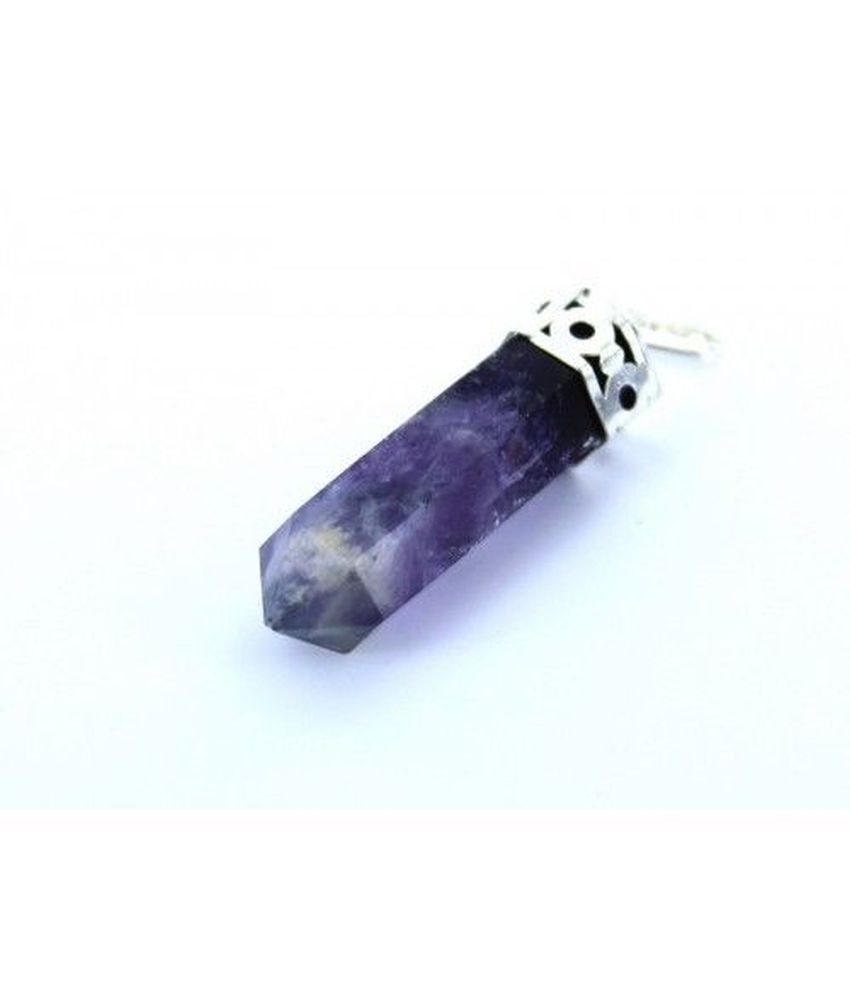 Vastughar Purple Traditional Amethyst Pendant