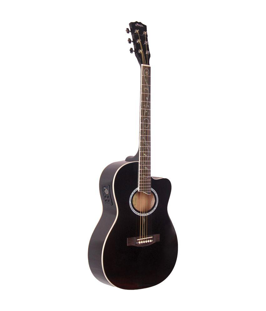 hertz hza 3901et acoustic guitar black buy hertz hza 3901et acoustic guitar black online. Black Bedroom Furniture Sets. Home Design Ideas