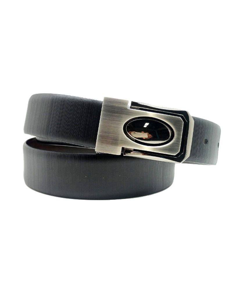 Lapalma Leather Formal Stylish Belt - Black