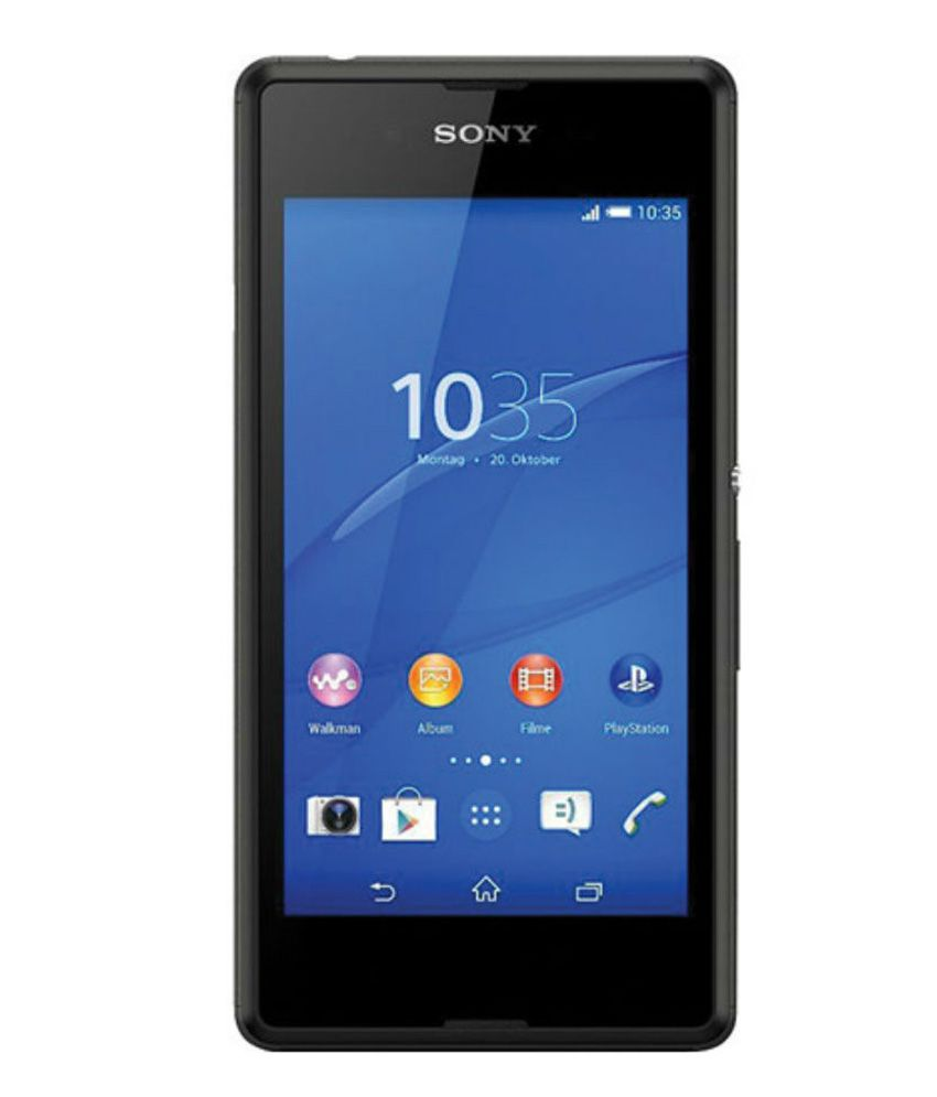 Sony Xperia E3 Dual 4GB Black