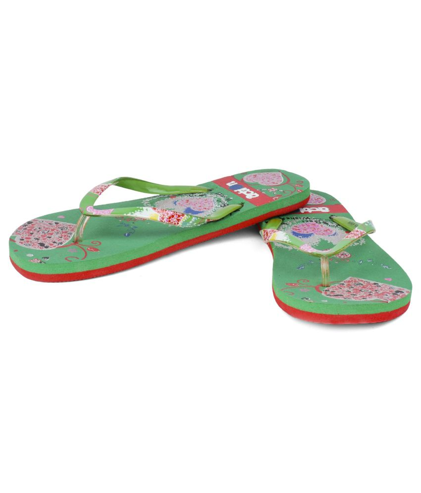 Action Shoes Green Slippers free shipping sale x27QeKiZE