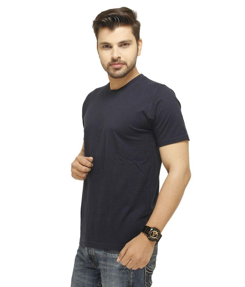 Profiler Navy Cotton Half T-shirt