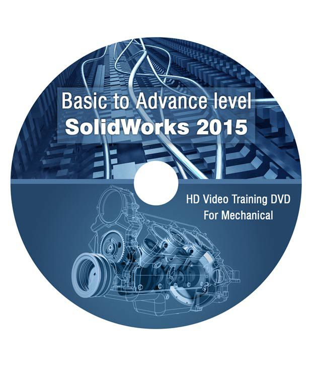 SolidWorks 2015 (Basic to Advance level ) - DVD (HD Video Training) for  Mechanical