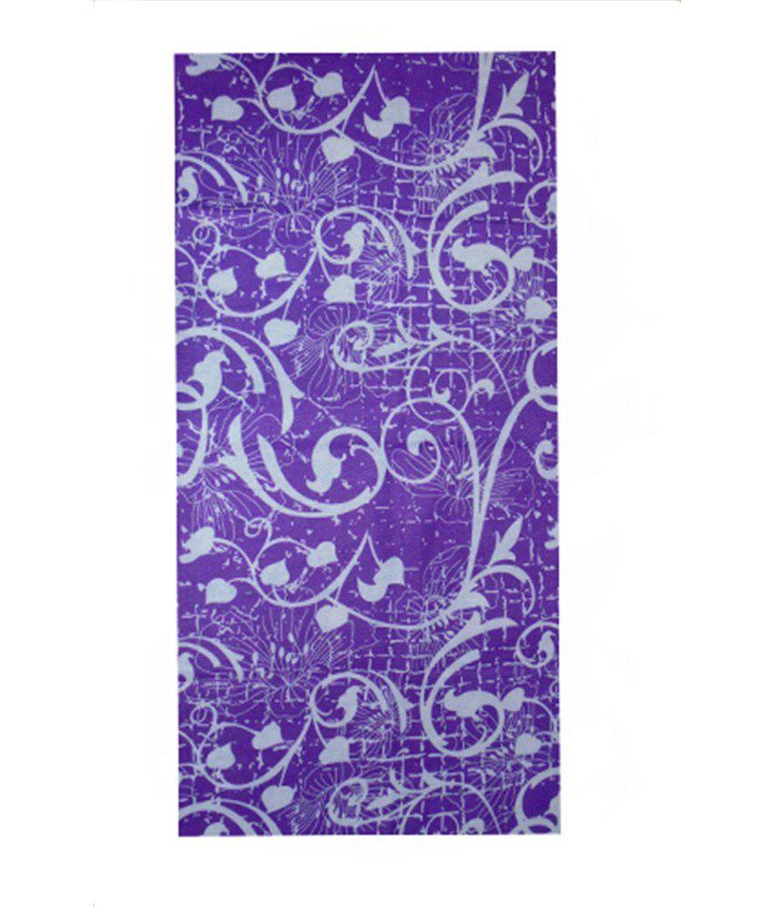 Bucky Fashion Purple Polyester Headgear