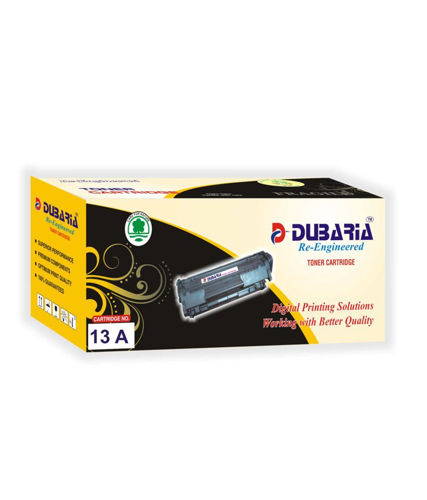 Dubaria 13A Black Toner Cartridge Compatible for HP 13 A / Q2613A