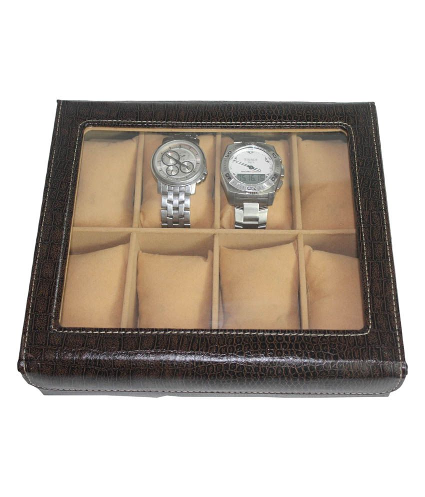 Felicita Sllek Watch Box With 8 Slot