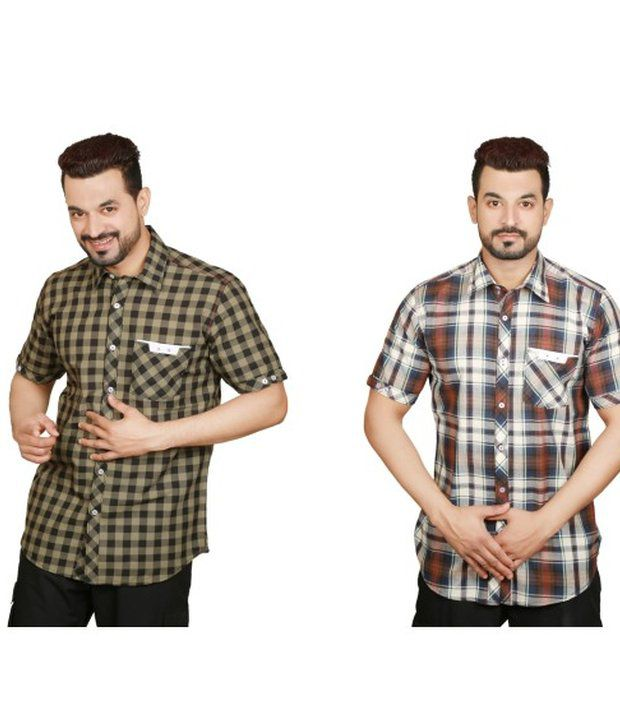 Sparrow Clothings Cotton Men Casual Shirts