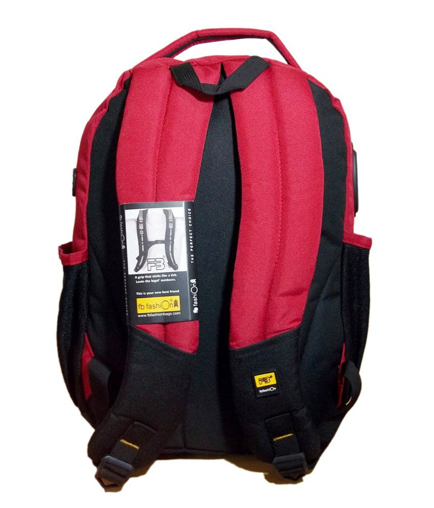 638cf741fced5d FB Fashion SB-276 Trendy Unisex Red Waterproof Backpack - Buy FB ...