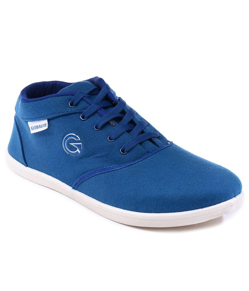a23715b572e Globalite Navy Core Lifestyle Sneakers Men Casual Shoes available at  SnapDeal for Rs.425