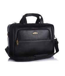 Stamp Brown Leather Wonderful Laptop Bag