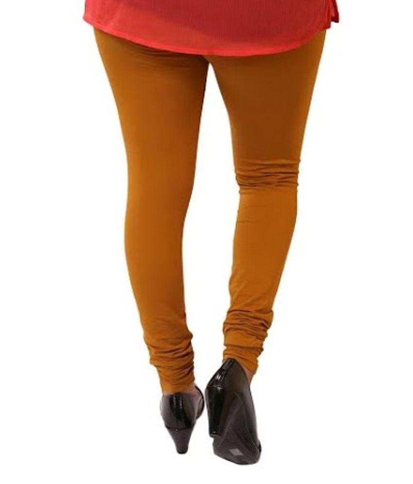 7f2c9e4c18522 Unicus Fashion Brown Cotton Free Size Leggings Price in India - Buy ...