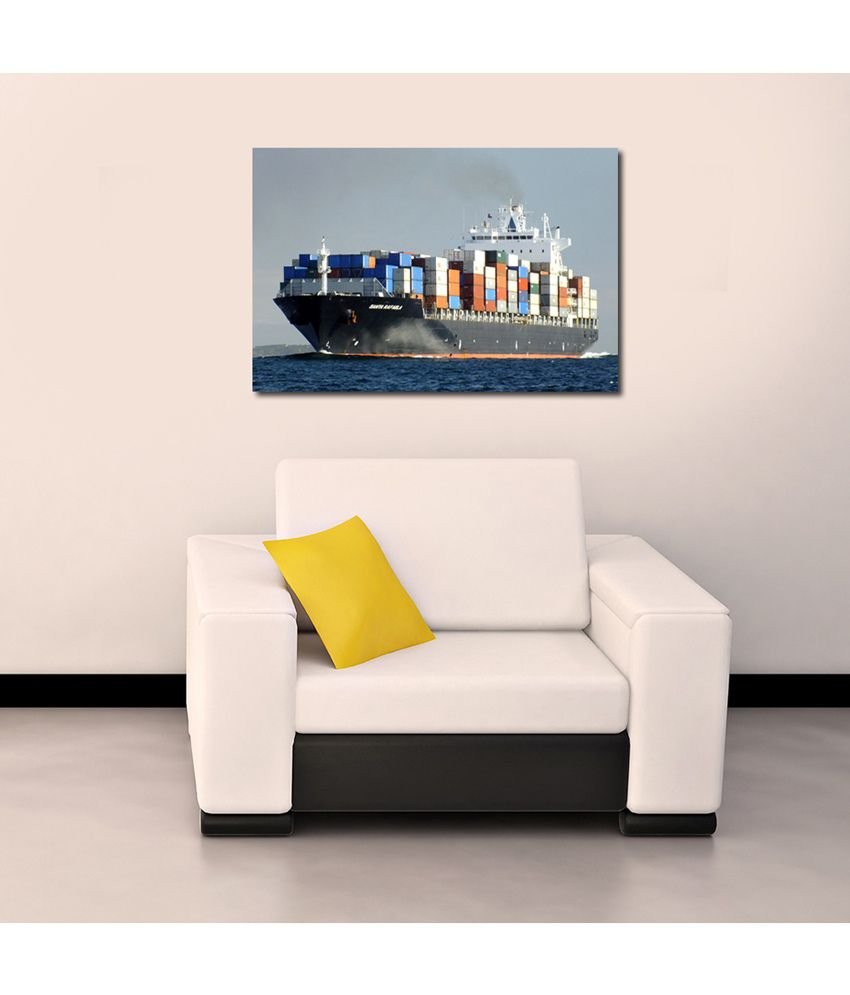 999Store Ship In The Sea Printed Modern Wall Art Painting - Large Size