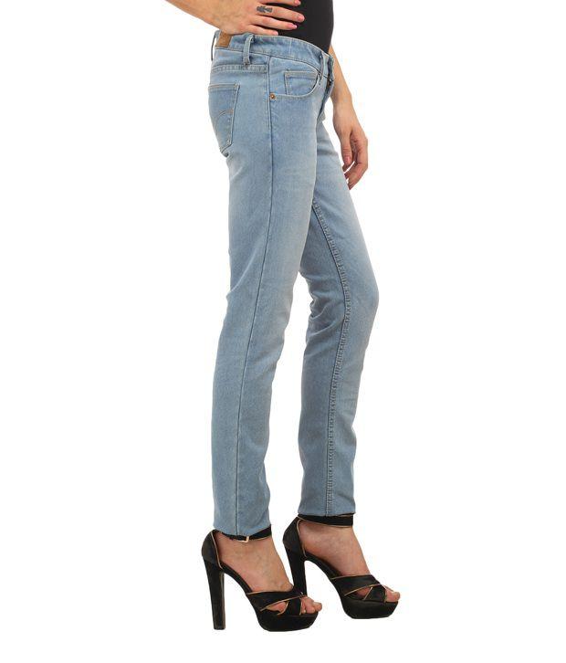 86373061ea03 Ladybug Blue Stretch Skinny Washed Jeans Ladybug Blue Stretch Skinny Washed  Jeans ...