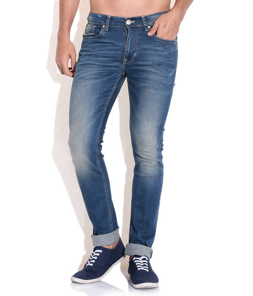 U.S. Polo Assn. Blue Skinny Fit Jeans